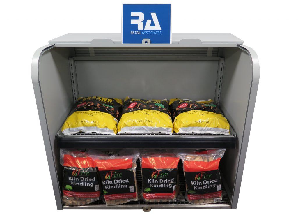 Retail Associates launch high quality metal forecourt bunker