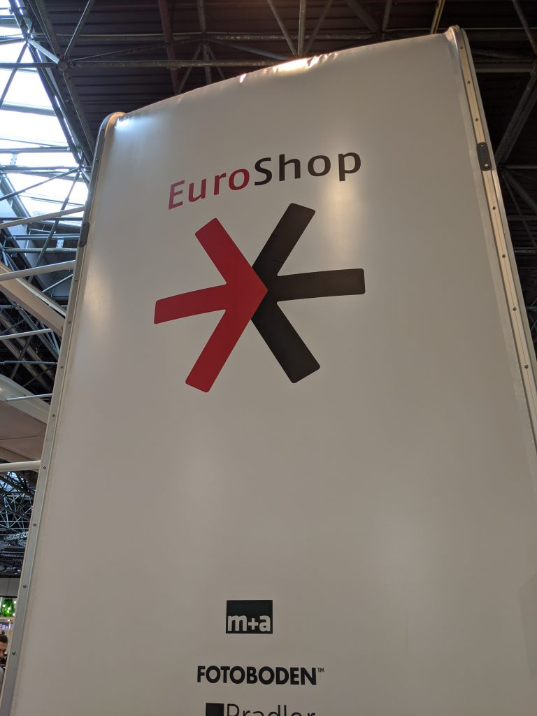 Euroshop trade show sign