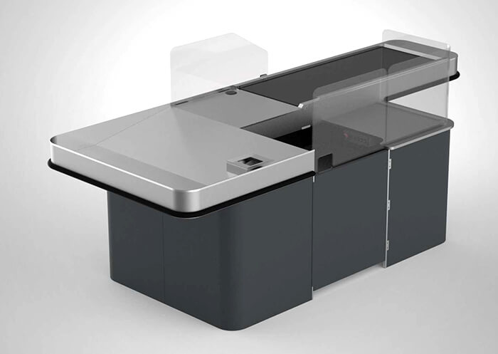 Belted Checkout Counter