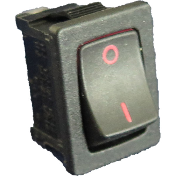 Rocker Switch 240 Volt Non Illuminated Retail Associates
