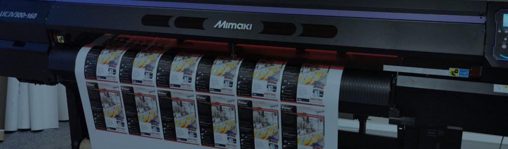 vinyl printer banner